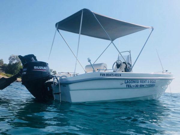 Dioni Lagonisi Rent a Boat