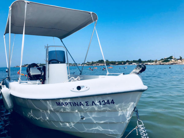 Martina Lagonisi Rent a Boat